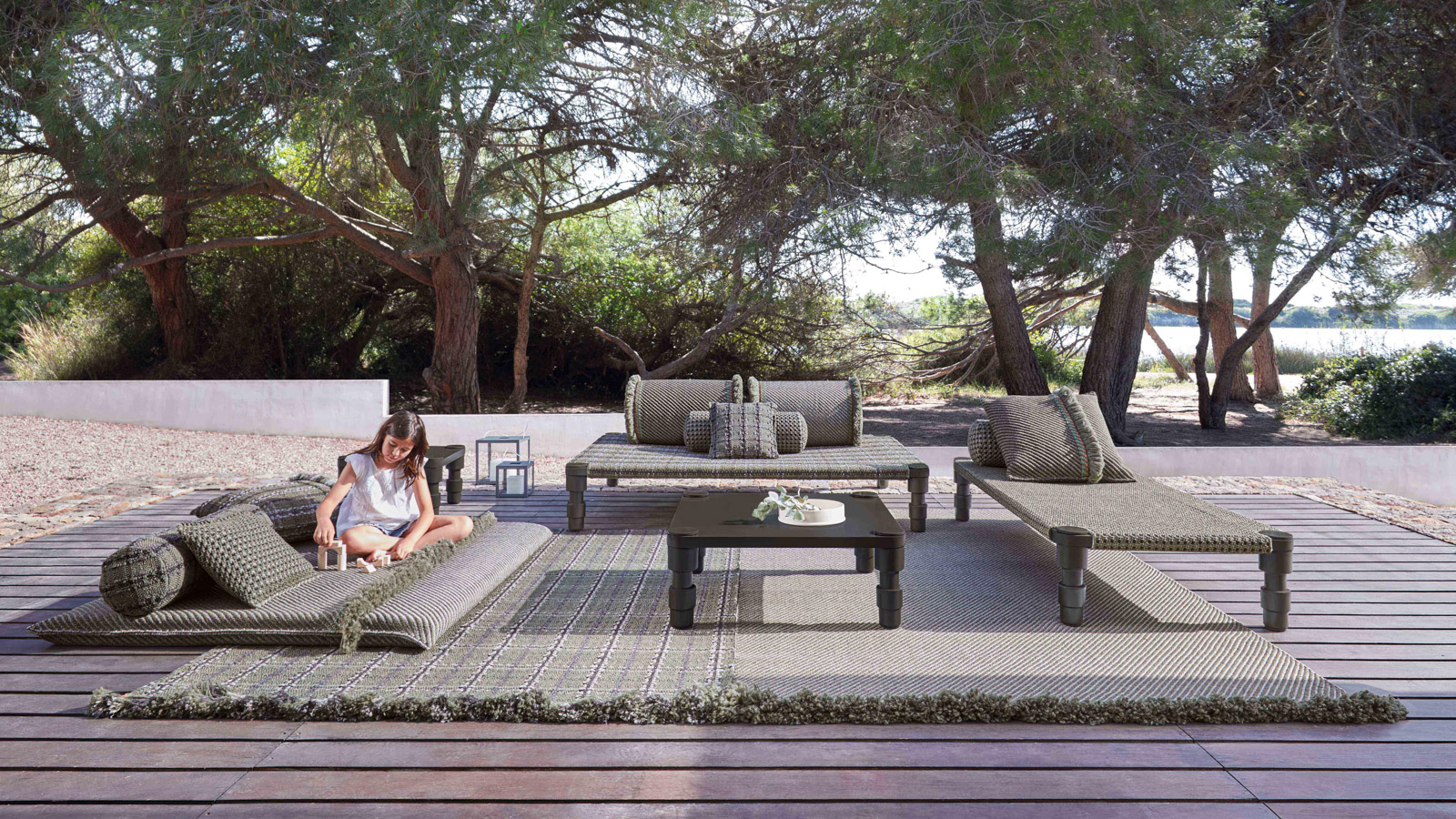 Garden Layers Collection by GAN for outdoor space