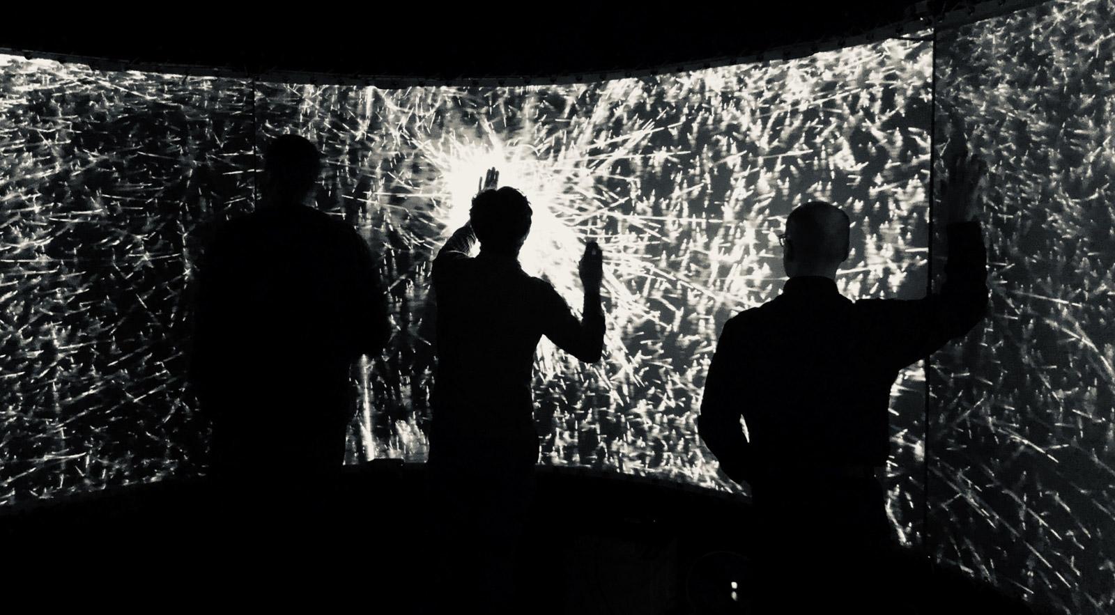 Zeta audio-visual installation artwork