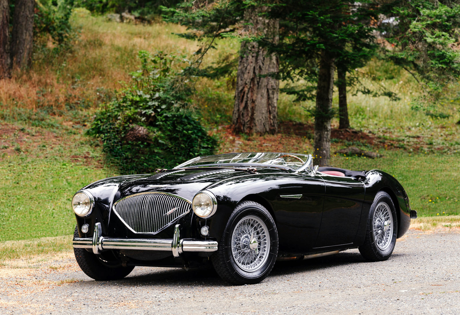 1956 Austin-Healey restored automobile