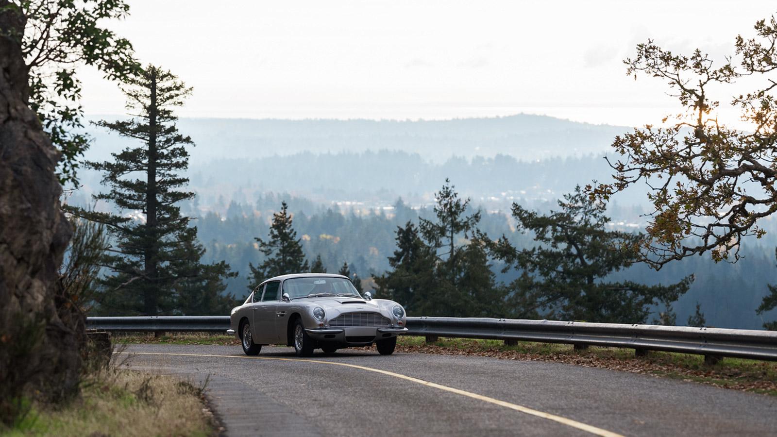 Aston Martin DB6 Coachwerks automobile restoration