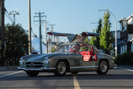 1955 300SL Mercedes Gullwing