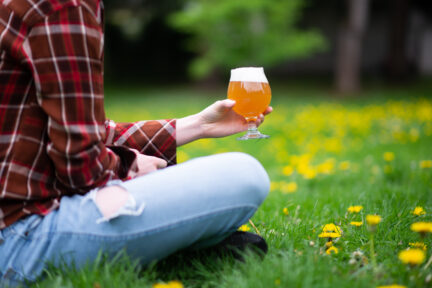 Drinking in parks in Vancouver