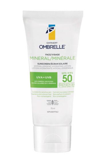 Garnier Ombrelle Mineral Sunscreen SPF 50+