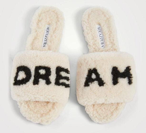 Aquazzura So Dream Slide Sandals