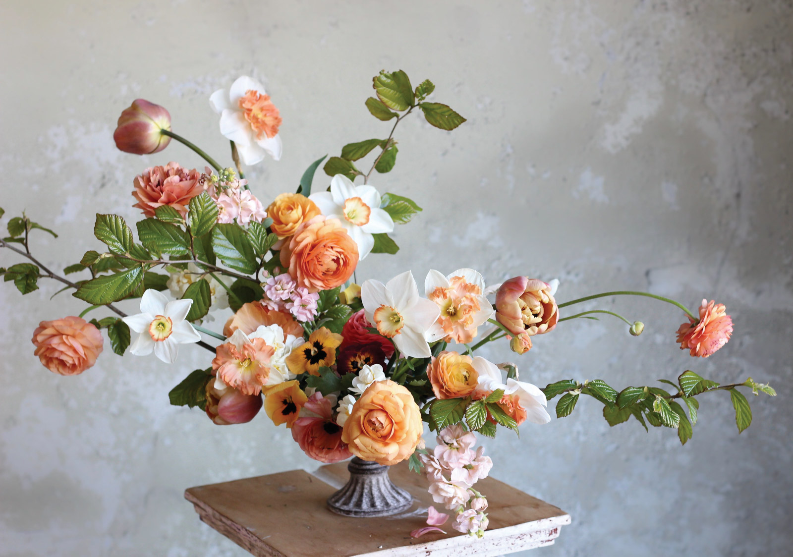 Sustainable floristry by Christin Geall