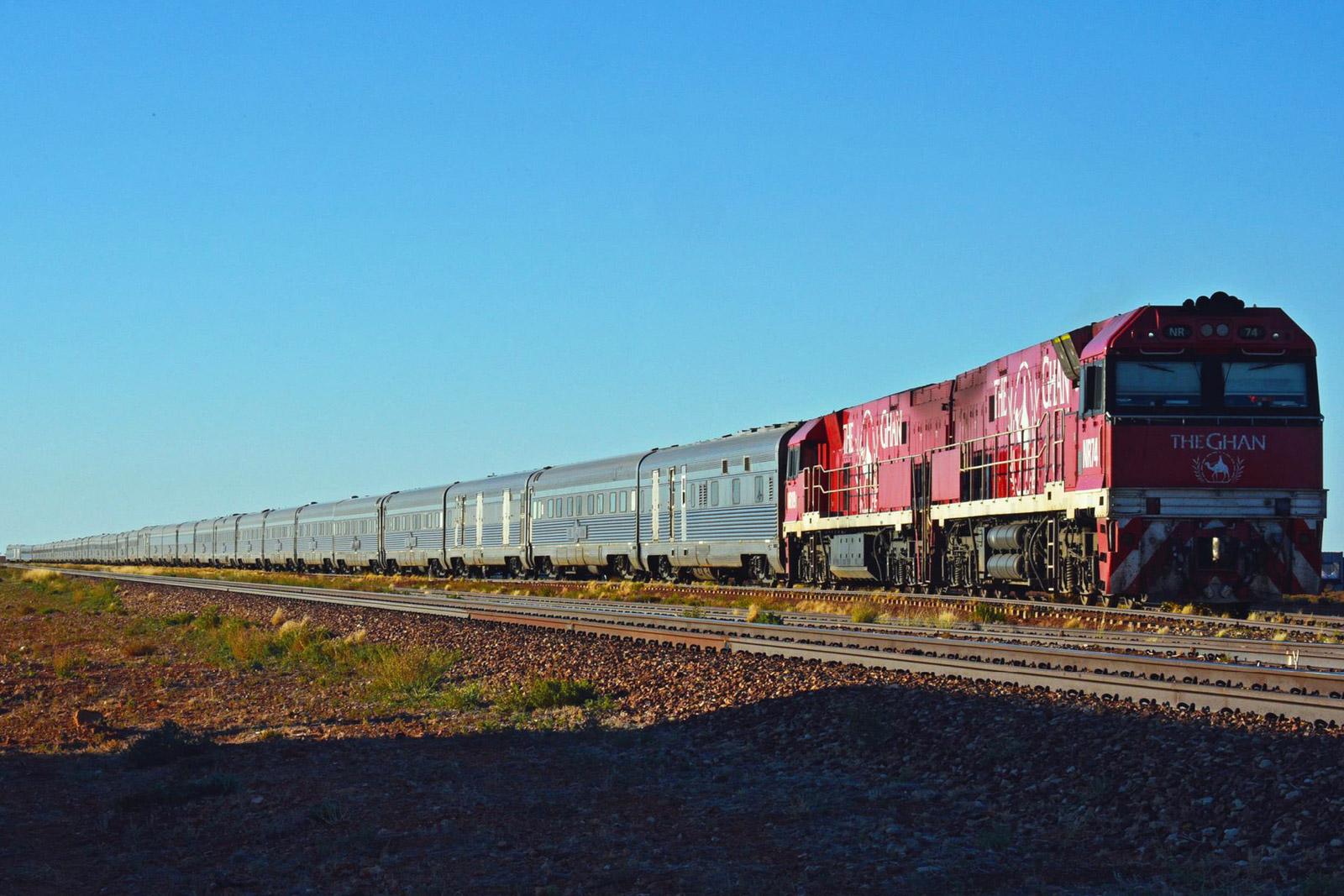 The Ghan Australia train trip